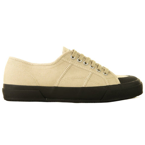 2390 COTU Classic Shoes in Taupe/ Black Trainers Superga