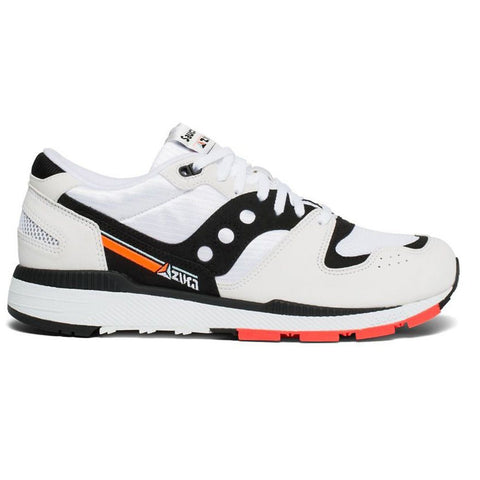 Azura Trainers in White/ Black/ Red Trainers Saucony