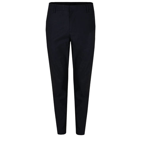 Luca Side Stripe Golf Trousers in Black/ White Trousers J. Lindeberg