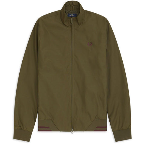J100-G78 Twin Tipped Brentham Jacket in Dark Thorn Green Coats & Jackets Fred Perry