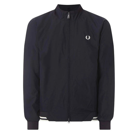 J100-608 Twin Tipped Brentham Jacket in Navy Coats & Jackets Fred Perry