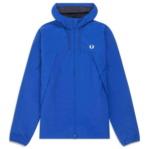 J7527 Panelled Zip Through Jacket in Regal Blue Coats & Jackets Fred Perry