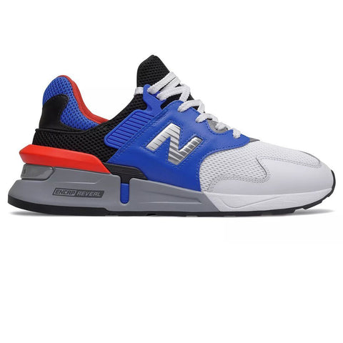 997 Sport Trainers in Vivid Cobalt with Coral Glow Trainers New Balance