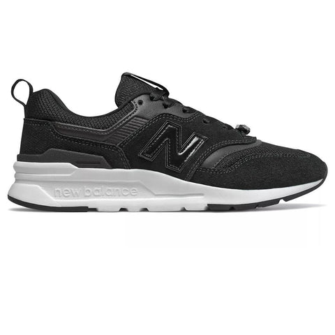 997 Mystic Crystal Trainers in Black and White Trainers New Balance Women's