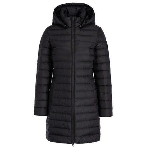 Lightweight Down Coat in Black Coats & Jackets Calvin Klein Women's