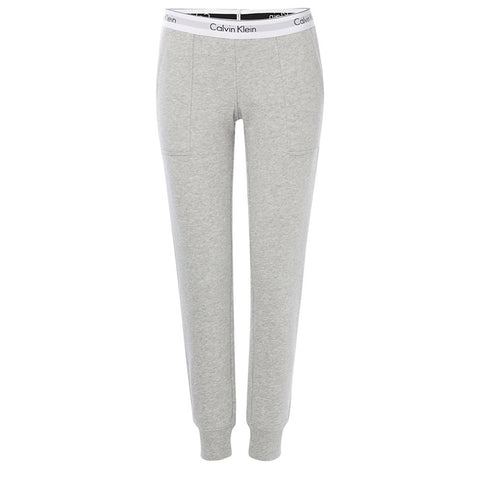 Modern Cotton Joggers in Grey Heather Joggers Calvin Klein Women's