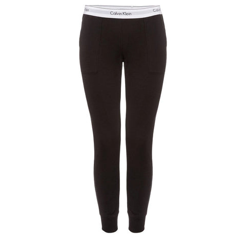 Modern Cotton Joggers in Black Joggers Calvin Klein Women's