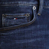 Denton Straight Fit Jeans in New Dark Stone Jeans Tommy Hilfiger