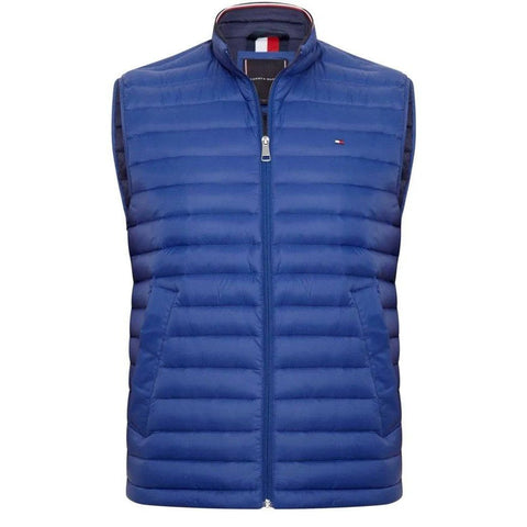 Packable Down Gilet in Sodalite Blue Gilet Tommy Hilfiger
