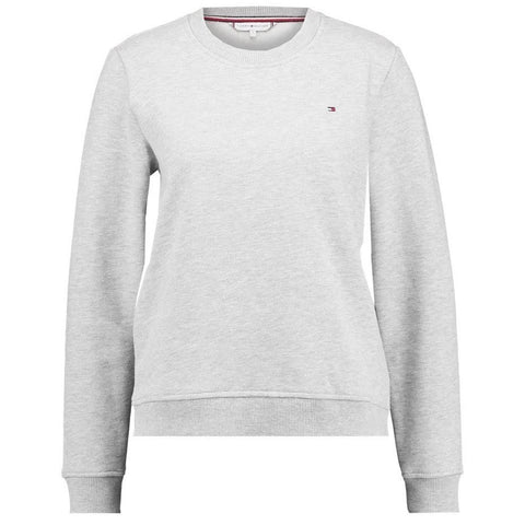 Heritage Crew Neck Sweatshirt in Light Grey Heather Women's Sweatshirt Tommy Hilfiger Women's