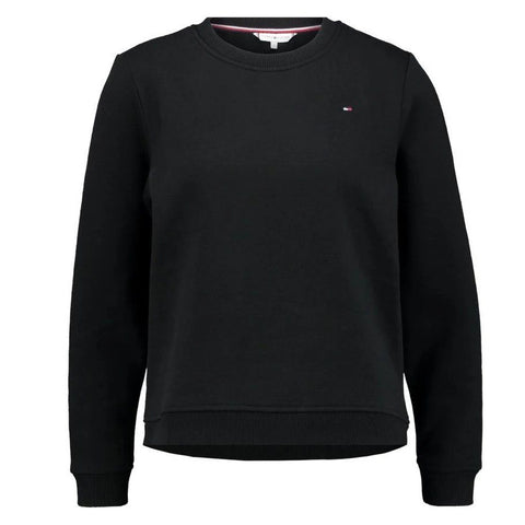 Heritage Crew Neck Sweatshirt in Masters Black Women's Sweatshirt Tommy Hilfiger Women's