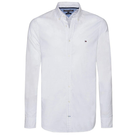 Core Stretch Slim Fit Oxford Shirt Shirts Tommy Hilfiger