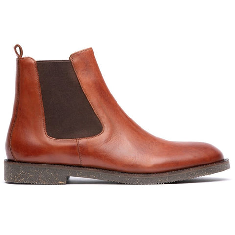 Karter Chelsea Boot in Tan Shoes H by Hudson