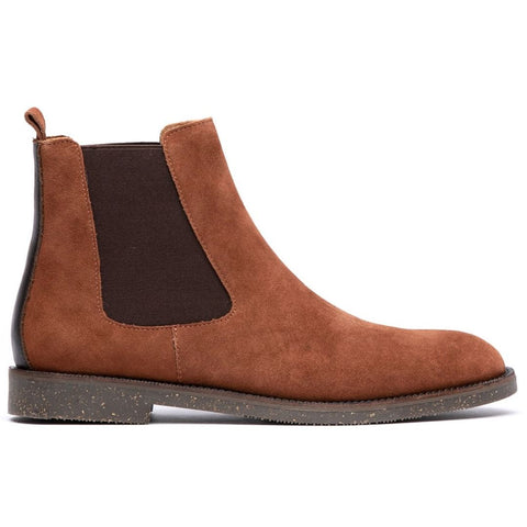 Karter Suede Chelsea Boot in Tan Shoes H by Hudson