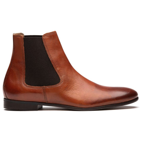 Craigavon Chelsea Boot in Tan Shoes H by Hudson