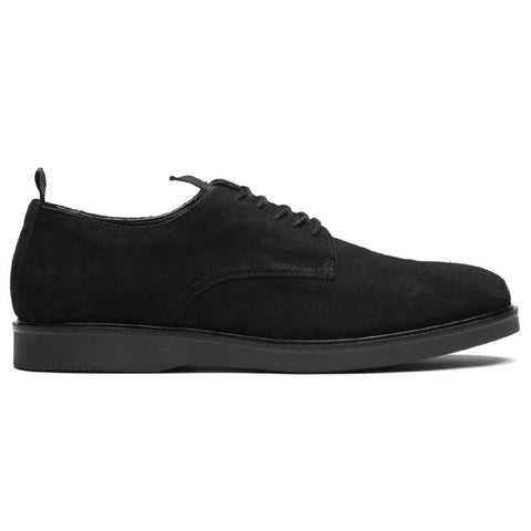 Barnstable Suede Shoe In Black Shoes H by Hudson