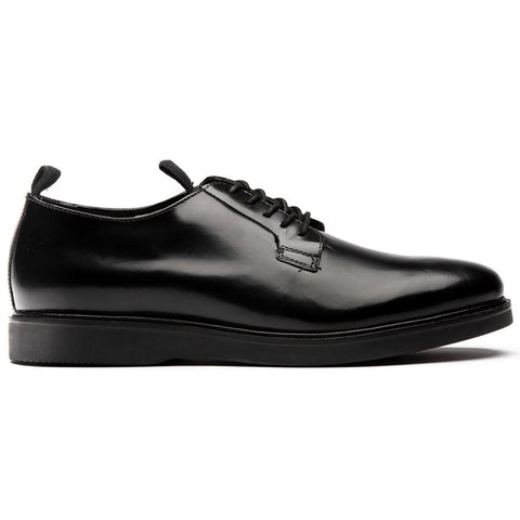 Calverston Hi Shine Postman Shoe in Black Shoes H by Hudson