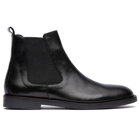 Karter Chelsea Boot in Black Shoes H by Hudson
