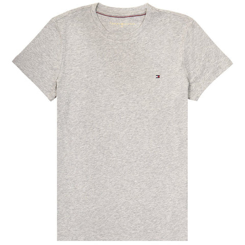 Heritage Crew Neck Tee in Grey Women's T-Shirts Tommy Hilfiger Women's