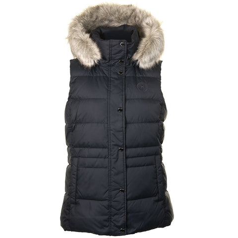 New Tyra Down Vest in Sky Captain Gilet Tommy Hilfiger Women's