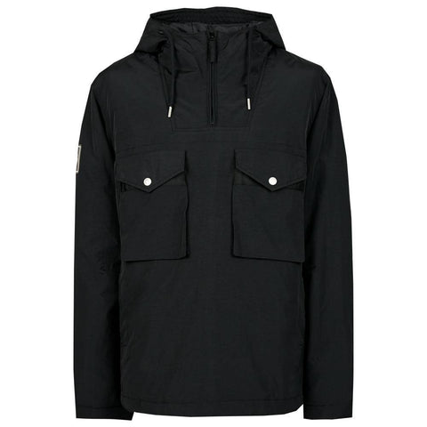 Quilted Smock Jacket in Black Coats & Jackets Pretty Green