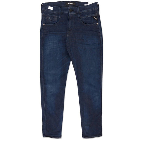 M914.000.661.804.007 Anbass Slim Jeans in Dark Blue Jeans Replay
