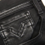 M914.000.661.06b.009 Hyperflex Anbass Jeans in Black Jeans Replay