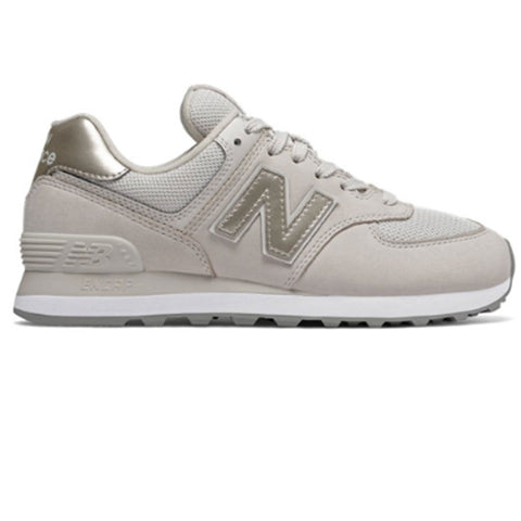 574 Trainers in Moonbeam and Champagne Trainers New Balance Women's