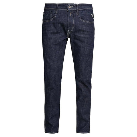 M914.000.141.00.007 Slim Fit Anbass Jeans in Deep Blue Jeans Replay