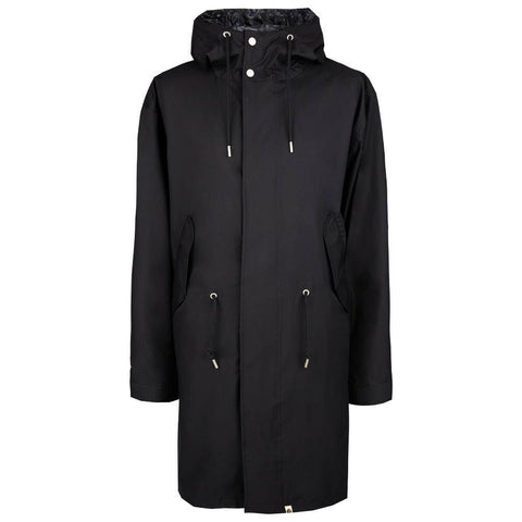 Seam Sealed Technical Parka in Black Coats & Jackets Pretty Green
