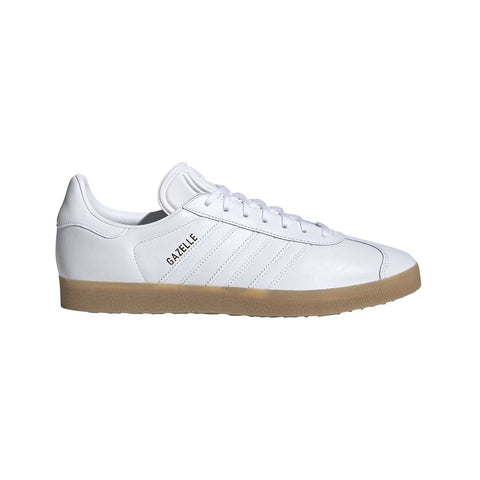 Gazelle Trainers BD7479 in Cloud White/Gum Trainers adidas