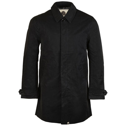 Button up Mac in Black Coats & Jackets Pretty Green