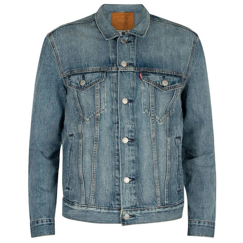 Killebrew Trucker Jacket in Blue Denim Coats & Jackets Levi's