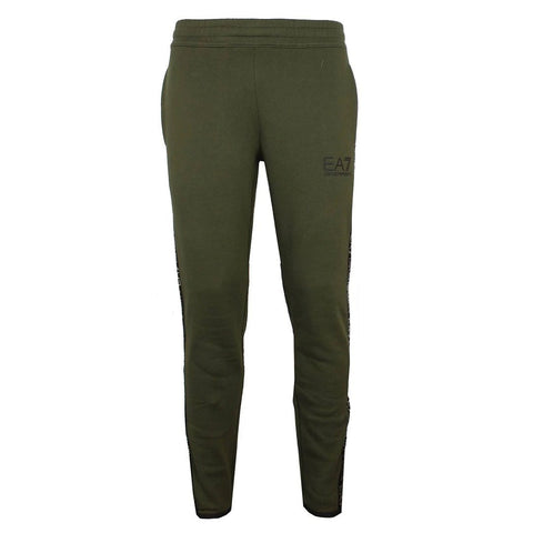 Taped Joggers in Forest Night Joggers Emporio Armani EA7