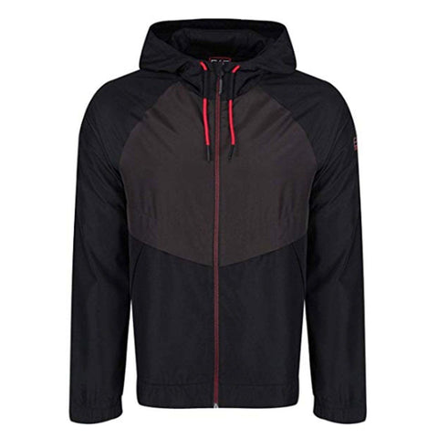 Hooded Tracksuit in Black Tracksuit Emporio Armani EA7