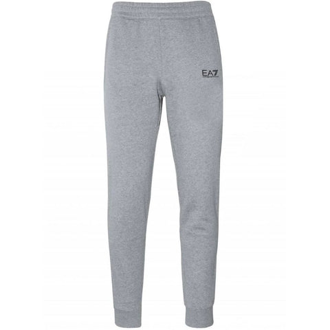 Cuffed Joggers in Medium Grey Melange Joggers Emporio Armani EA7