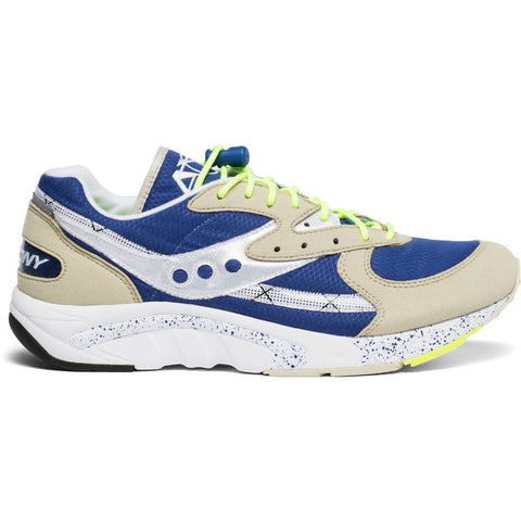 Aya Trainers in Grey/Blue/Neon Trainers Saucony