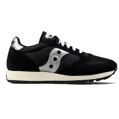 Jazz Original Vintage Shoes in Black/ White Trainers Saucony