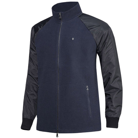Oscar Jacobson Marshall Cardigan Black / Navy