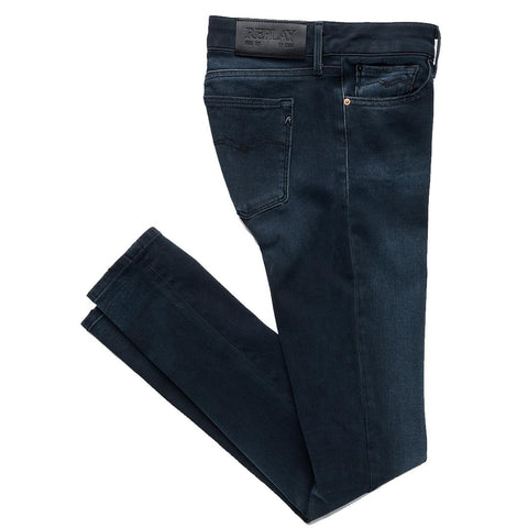 Hyperflex+ Luz Skinny Fit Jeans in Dark Blue Women's Jeans Replay Women's