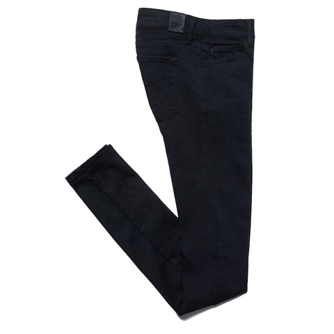 Luz Hyperflex Skinny Jeans in Black Women's Jeans Replay Women's
