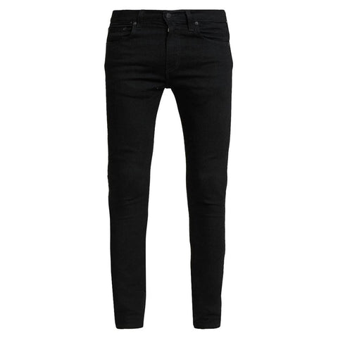 519 Super Skinny Low Rise Jeans in Black Jeans Levi's