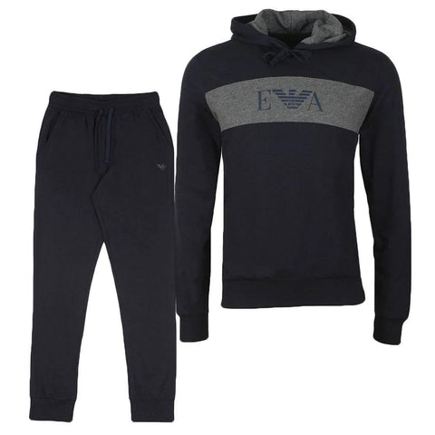Loungewear Tracksuit in Navy Tracksuits Emporio Armani