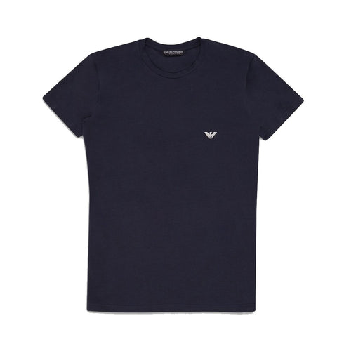 Crew Neck T-shirt In Navy T-Shirts Emporio Armani