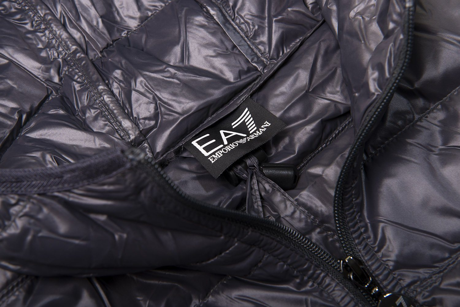 Emporio Armani EA7 Core Down Jacket in Anthracite