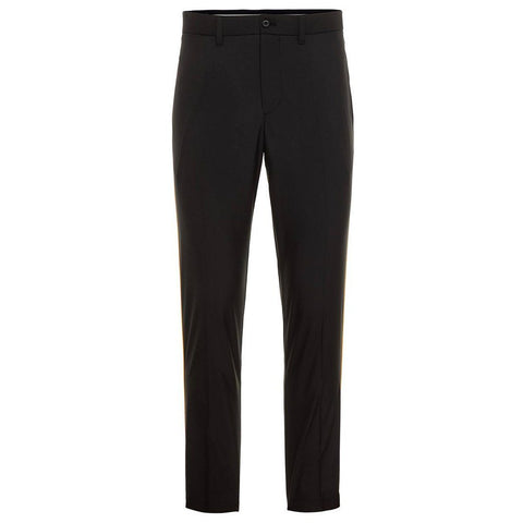 J. Lindeberg Reese Light Poly Golf Trousers in Black Trousers J. Lindeberg