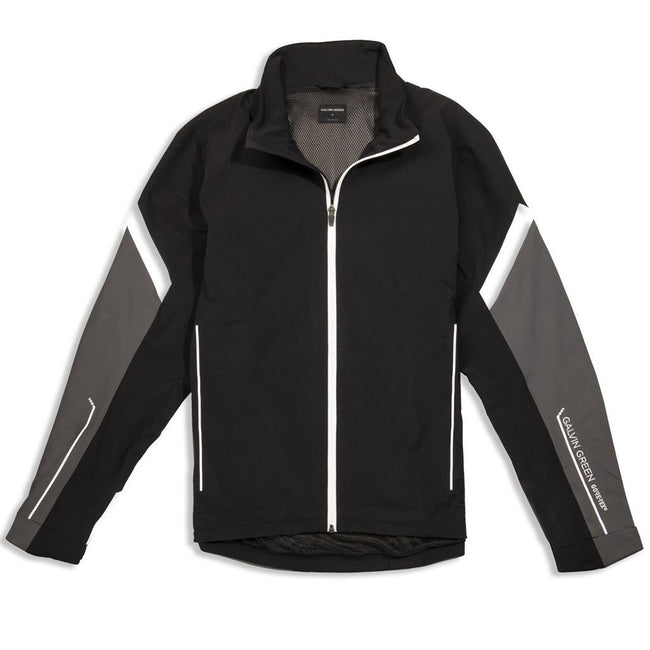 Galvin Green Allen GORE-TEX Waterproof Golf Jacket in Black / Iron