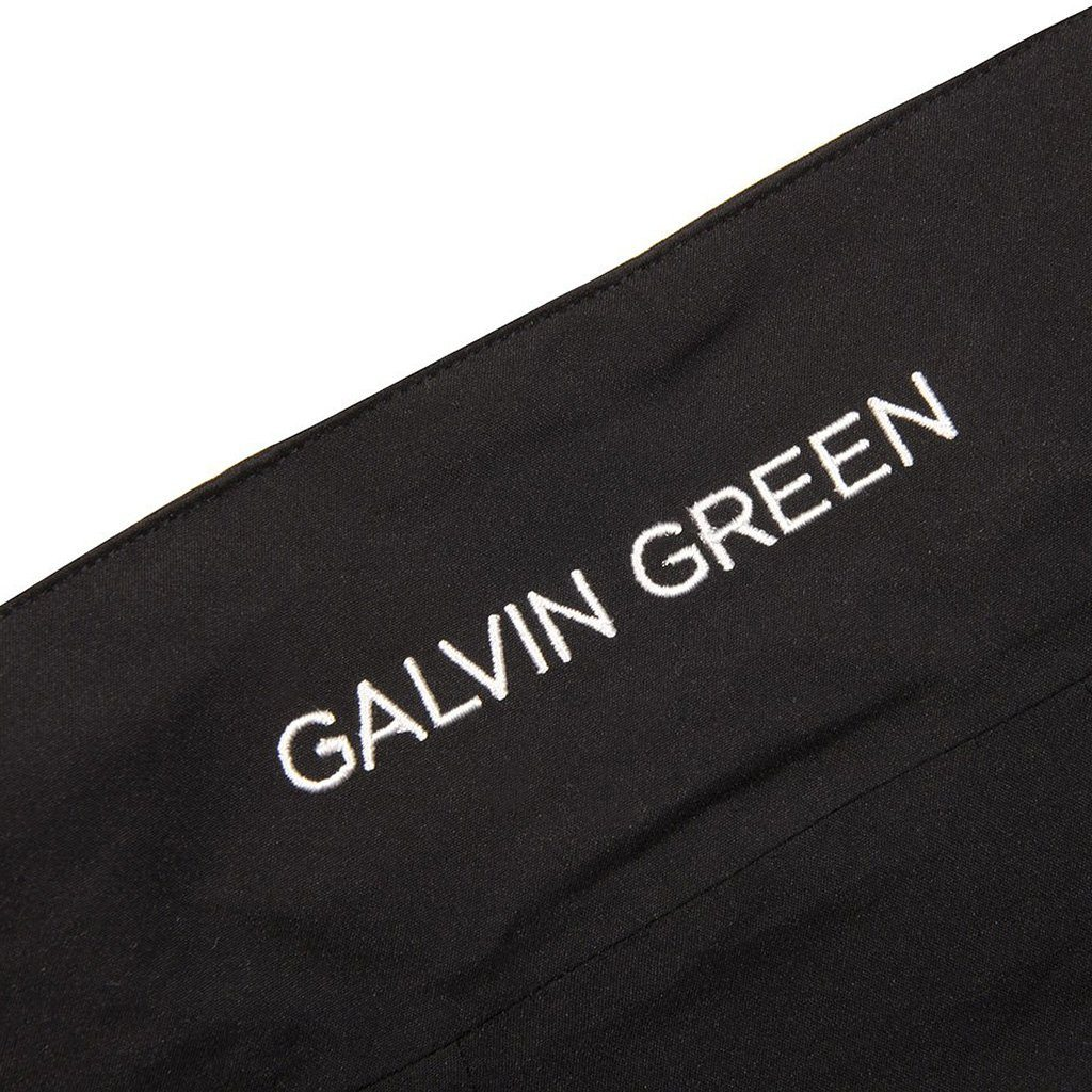 Galvin Green Allen GORE-TEX Waterproof Golf Jacket in Black / Iron Coats & Jackets Galvin Green