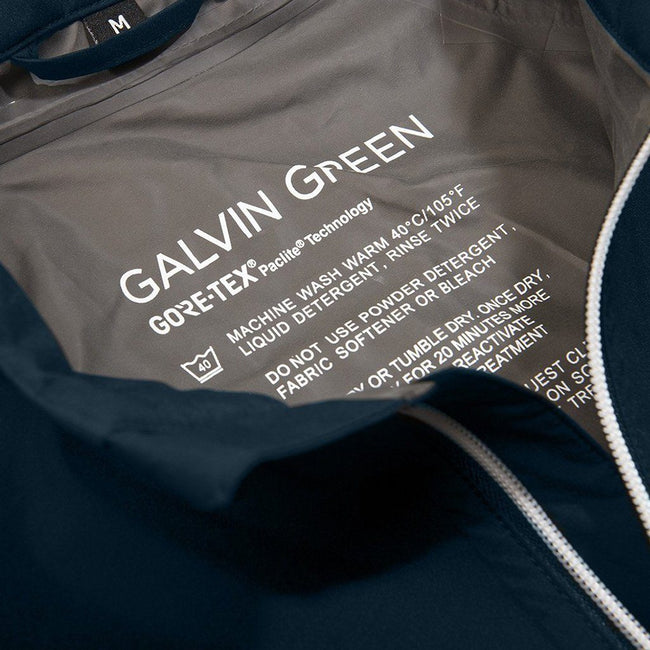 Galvin Green Alonzo GORE-TEX Paclite Waterproof Jacket in Navy Blue