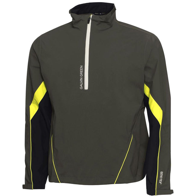Galvin Green Armando Paclite Gore-Tex Waterproof Jacket in Beluga / Black / Lemonade